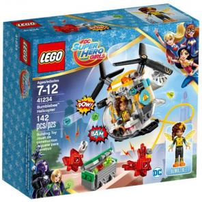 LEGO DC Super Hero Girls Bumblebee helikoptere