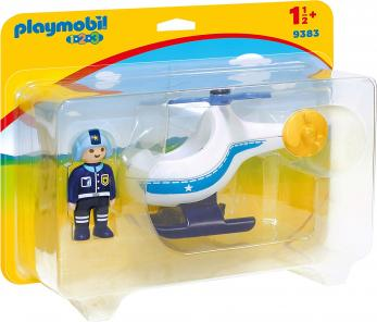 Playmobil - Rendőr Helikopter - 9383