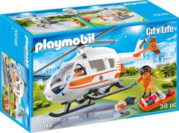 Playmobil - City Mentőhelikopter - 70048