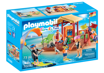 Playmobil - Family fun - Vízisport Iskola - 70090