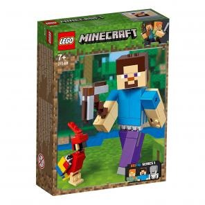 Lego Minecraft - Big Fig Steve Papgájjal - 21148
