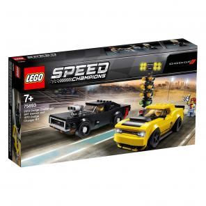 Lego Speed Champions - 2018 Dodge Challenger SRT Demon  és 1970 Dodge Charger R/T - 75893