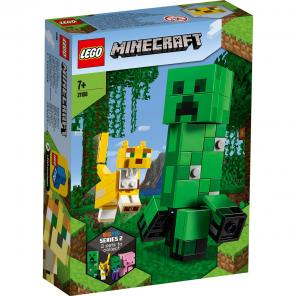 LEGO Minecraft BigFig Creeper és Ocelot 21156