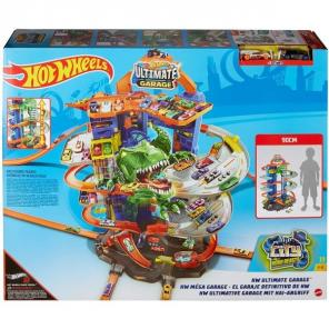 Hot Wheels: T-rex Ultimate garázs