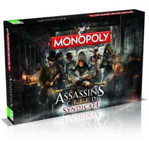 Monopoly Assasin's Creed Syndicate Társasjáték