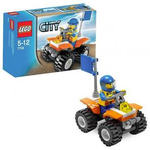 Lego City Parti Örség Quad Bike