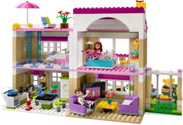 Lego Friends Olivia Háza