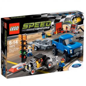 Lego Speed Champions Ford F-150 Raptor és Ford Model A Hot Rod